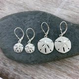 Sand Dollar Drop Earrings