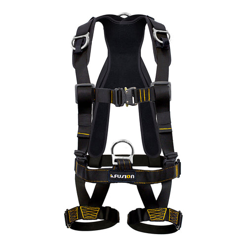 TAC-SCAPE FULL BODY HARNESS (Silver D-ring)