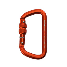 Load image into Gallery viewer, Fusion Climb Tazo III Military Police Tactical Edition Aluminum Screw Gate Carabiner ORG