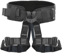 Load image into Gallery viewer, Fusion Climb Teka Tactical Padded Half Body Adjustable Bungee Dance Zipline Harness 23kN M-XL Black