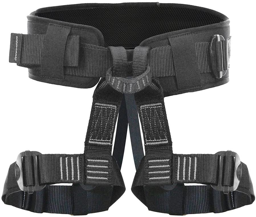 Fusion Climb Teka Tactical Padded Half Body Adjustable Bungee Dance Zipline Harness 23kN M-XL Black
