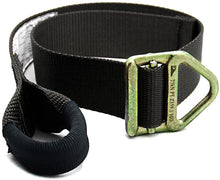 "Load image into Gallery viewer, Fusion Climb Lanyard with Eye Loop Delta Ring 1.75"" Wide Adjustable to 48"" Black"