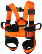 Load image into Gallery viewer, Fusion Climb Rebound Kids Full Body Adjustable Bungee Trampoline Harness 23KN XXS Orange