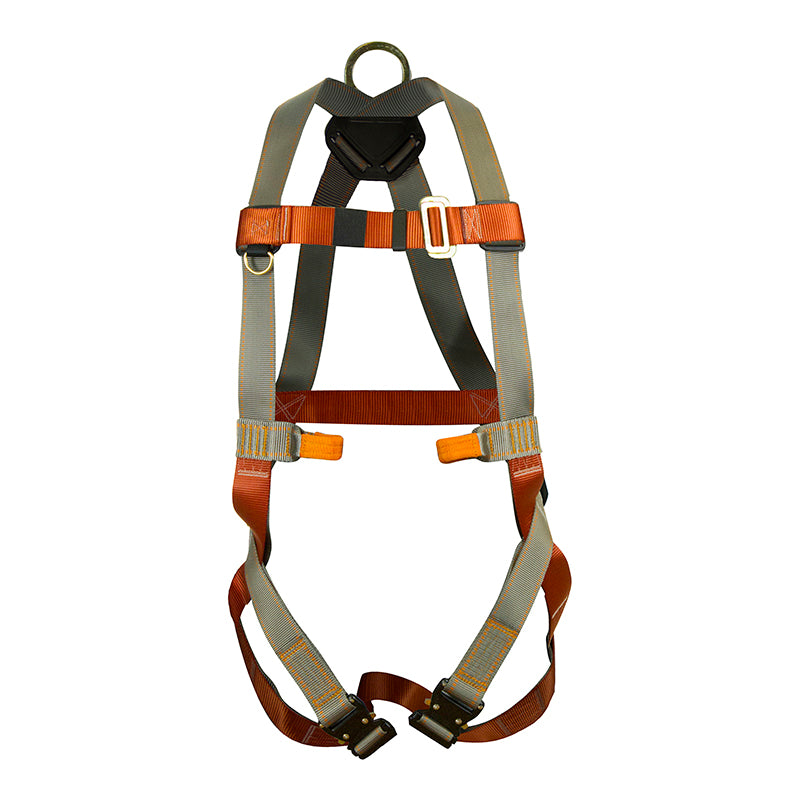 Fusion Climb Morph Trainer Full Body Adjustable Zipline Harness 23kN M-L Coyote Brown