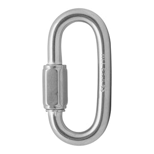 "FUSE OVAL QUICK LINKS - 5/16"" - STAINLESS"