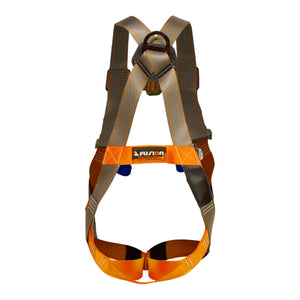 Fusion Climb Morph Trainer II Full Body Adjustable Zipline Harness 23kN M-L Coyote Brown