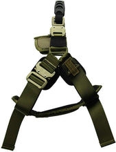 Load image into Gallery viewer, Fusion Pets Trekker Adjustable Military Tactical Police K9 Ergonomic Dog Harness