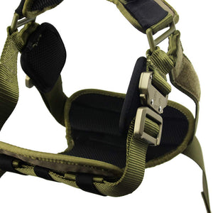 Fusion K9 Trekker Military Grade Harness (L) Made in USA