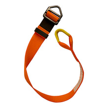 Load image into Gallery viewer, ADJUSTABLE SINGLE LEG LANYARD W/LOOP & ADJUSTABLE DELTA RING