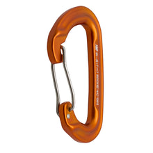 Load image into Gallery viewer, CONTIGUA WIRE GATE MODIFIED D SHAPE CARABINER
