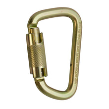 Load image into Gallery viewer, Fusion Climb Tacoma Steel Triple Lock with Key Nose Modified D-shaped Carabiner