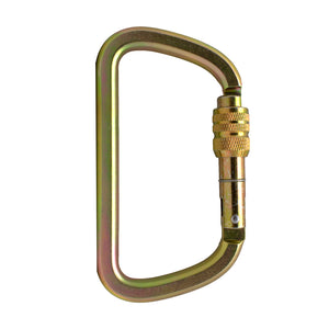 TAHOE-SCREW LOCK XL STEEL CARABINER