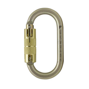 OVATTI-STEEL TRIPLE LOCK GATE CARABINER