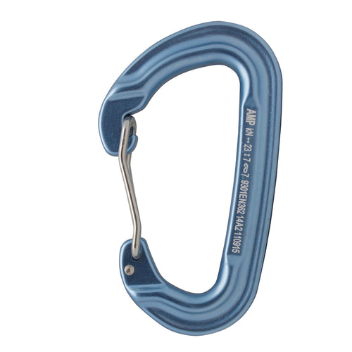 CONTIGUA WIRE GATE MODIFIED D SHAPE CARABINER