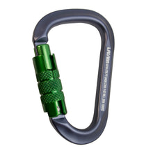 Load image into Gallery viewer, TECHNO AUTO LOCK ALUMINUM CARABINER