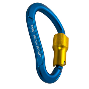 TECHNO HIGH STRENGTH AUTO LOCK ALUMINUM CARABINER