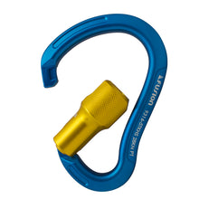 Load image into Gallery viewer, TECHNO HIGH STRENGTH AUTO LOCK ALUMINUM CARABINER