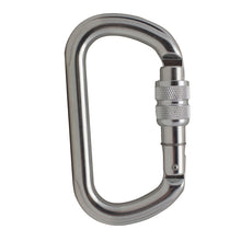 Load image into Gallery viewer, SUPREME OVAL SCREW GATE KEYLOCK ALUMINUM CARABINER