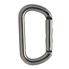 Load image into Gallery viewer, SUPREME OVAL STRAIGHT GATE KEYLOCK ALUMINUM CARABINER