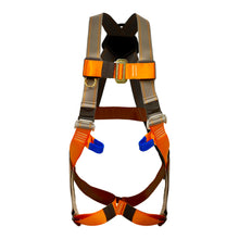 Load image into Gallery viewer, Fusion Climb Morph Trainer II Full Body Adjustable Zipline Harness 23kN M-L Coyote Brown