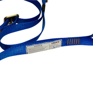 Y-LEGGED ADJUSTABLE FALL SAFETY LANYARD