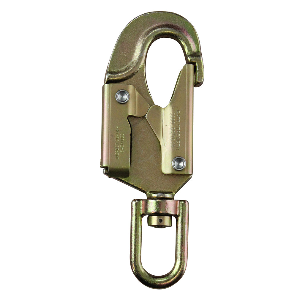 Fusion Climb Sector Swivel snaphook gold HS gate