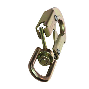 MAXI-2  FORGED SNAP HOOKS SWIVEL STEEL 3/4 GATE OPEN