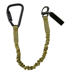 PERSONAL RETENTION LANYARD W/SHACKLE CARABINER COMBO