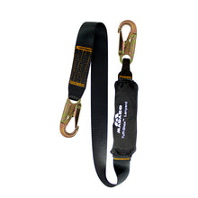 Load image into Gallery viewer, DOUBLE STEEL SNAP HOOK FALL SAFETY LANYARD