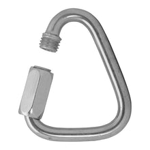 "Load image into Gallery viewer, FUSE DELTA QUICK LINKS - 1/4"" - STAINLESS"