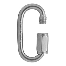 "Load image into Gallery viewer, FUSE OVAL QUICK LINKS - 1/4"" - STAINLESS"