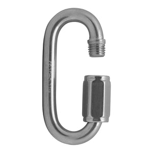 "FUSE OVAL QUICK LINKS - 3/8"" - STAINLESS"