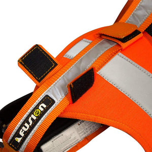 Fusion Pets Trekker Hi-Vis Ergonomic Reflective Strip Dog Harness