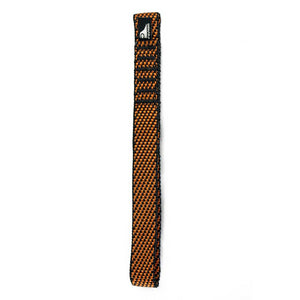 Fusion Climb Quickdraw Runner 5000 lb Test Stitched Loop 20cm x 1.6cm Nylon Webbing, Light Brown/Orange