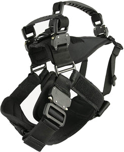 Fusion Pets Trekker Adjustable Ergonomic Dual Handle Dog Harness