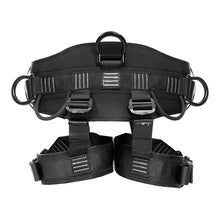 Load image into Gallery viewer, Fusion Climb Spartacus Heavy Duty Half Body Rigging Harness Black