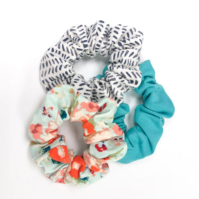 Spring Scrunchie 3-Pack
