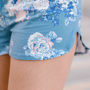 Women's Lounge Shorts Roses En Fleurs