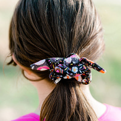 Summer Tie Scrunchie