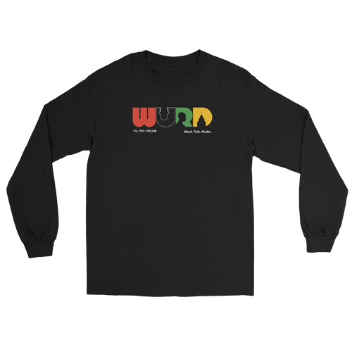 WURD Logo Long Sleeve Tee Black