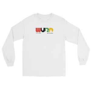 WURD Logo Long Sleeve Tee White