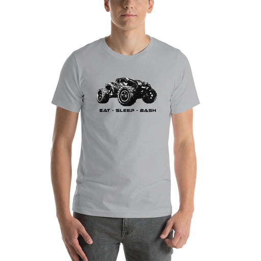 TBR Builds EAT SLEEP BASH Monster Truck T-Shirt = 25 Drawing Entries
