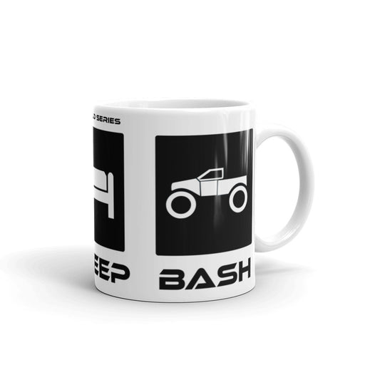 "TBR BUILDS ""EAT SLEEP BASH"" RC Mug = 13 Drawing Entries"