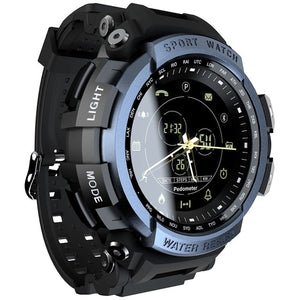 Blue Military Waterproof Smartwatch