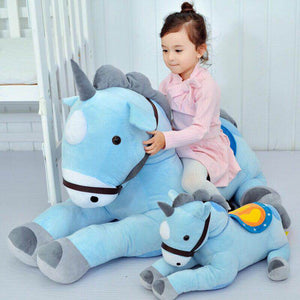 Giant Unicorn Plush Toy 50/70CM Pink/blue