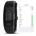 Intelliband Blood Pressure And Heart Rate Monitor PPG ECG Fitness Tracker - BunnyTags