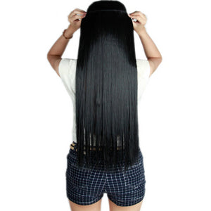 Invisible Halo Straight Hair Extension With Clips