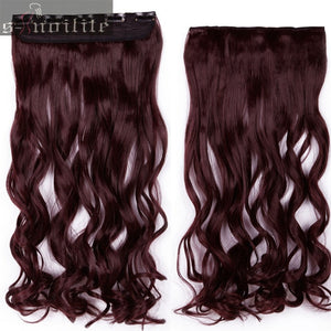 Invisible Halo Curly Hair Extension With Clips