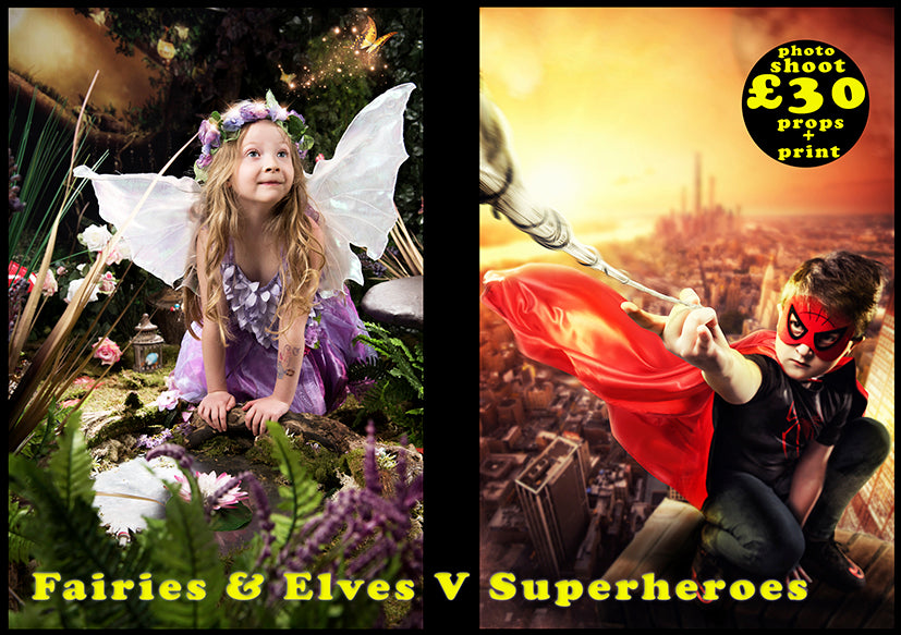 FAIRY v's SUPER HERO - SAVE OVER £100