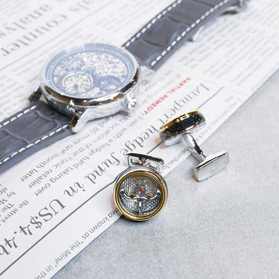 ERA Timepieces Tourbillon Styled Cufflinks